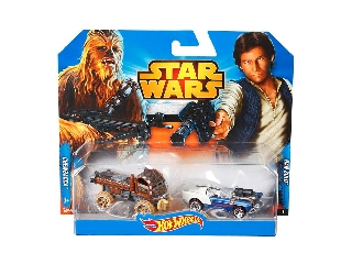 Hot Wheels Star Wars karakterautók - Csubakka + Han Solo