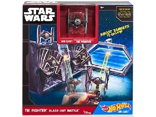 Hot Wheels Star Wars Tie fighter űrcsata