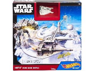 Hot Wheels Star Wars Ütközet a Hoth bolygó bázisán