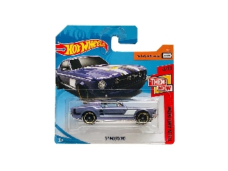 Hot Wheels - Then and Now: 1967 Mustang