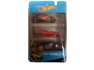 Hot Wheels Kisautók 3 db-os szett XII.-es