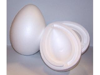 Hungarocell tojás 15,5*11 cm ketté szedhető 3 db/cs