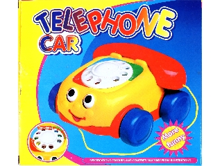 Húzható tárcsás bébitelefon