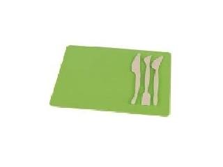 Gyurmatábla készlet, 210x297 mm, Panta Plast - Zöld