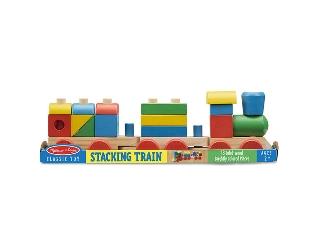 M&D - Fa készségfejlesztő játék - Építs vonatot!