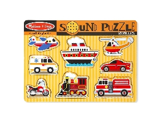 M&D - Hangos puzzle: Járművek