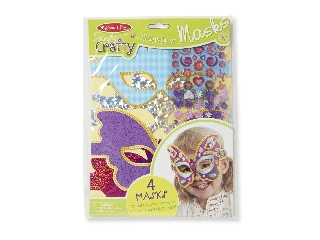 M&D - Kreatív játék - Papírművészet: Varázslatos maszkok