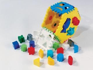 Csodagalaxis formafelismerő játékszett