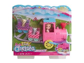Barbie Chelsea baba járművel