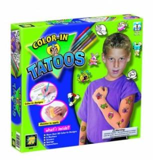 Színes tetoválások fiúknak