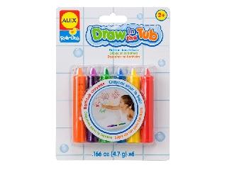 Rajzolj a fürdőben zsírkréták - 6 db