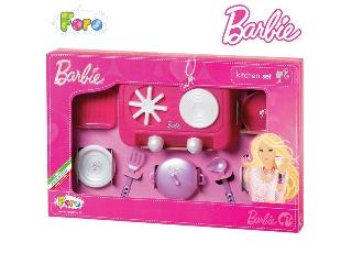 Barbie konyhakészlet villanysütővel 2
