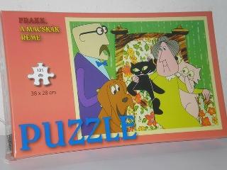 Frakk, a macskák réme 121db-os puzzle
