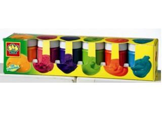 Tégelyes festék trendy 6 színű