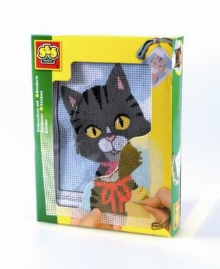 Hímzőszett - cica