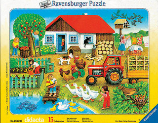 Didacta Farmélet  puzzle 8-17 darabos