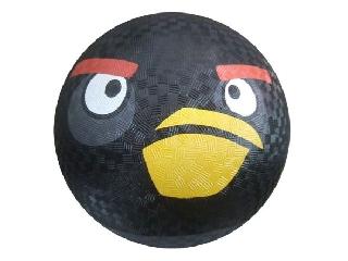 Angry Birds gumlilabda, 20 cm, fekete