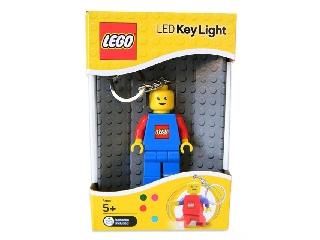 Lego világítós kulcstartó - kék