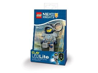 Lego Nexo Knight - Clay világító kulcstartó