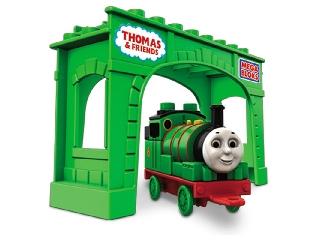 Mega Bloks Thomas építhető mozdony - Percy