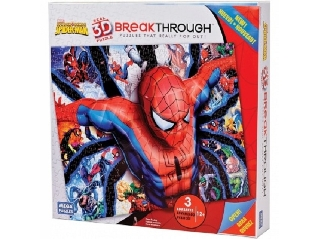 3D Puzzle Pókember 3.