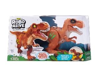Robo alive - Támadó T-Rex dinoszaurusz (barna)