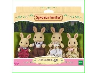 Sylvanian Families - Fehér nyuszi család