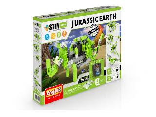 Engino stem Jurassic earth-motorizált