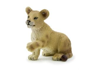 Animal Planet - Játszó oroszlán kölyök figura S