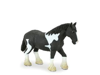 Animal Planet - Fekete-fehér ló figura XL