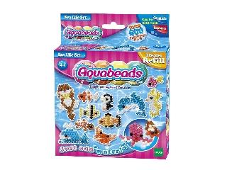 Aqua Beads Tematikus utántöltő - Óceán szett