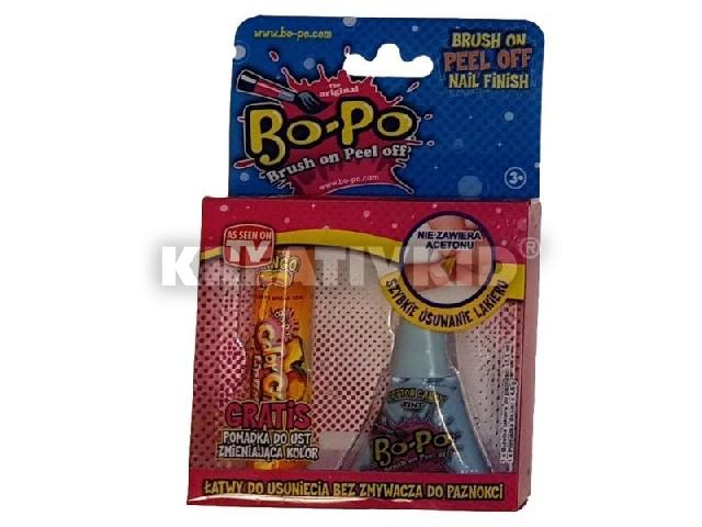 Bo-Po körömlakk bónusz csomag - világoskék - Cotton Candy