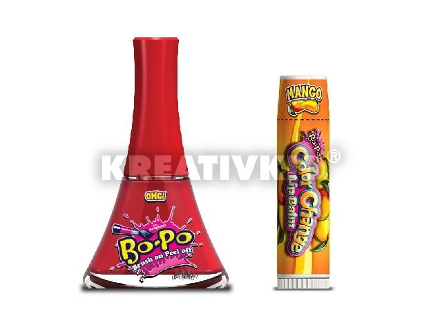 Bo-Po körömlakk bónusz csomag - piros - OMG!