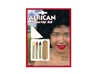 Karakter sminkszett - Afrikai