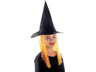 Boszorkány kalap - sárga hajjal