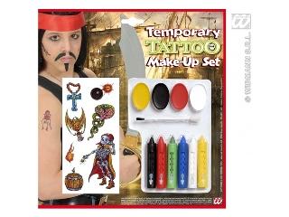 Kalózos tetoválás arcfestékkel (12