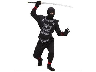 Fekete sárkány ninja 158-as méret