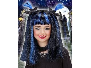 Halloween boszi paróka (kék)