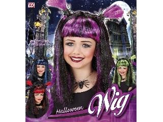 Halloween boszi paróka (lila)