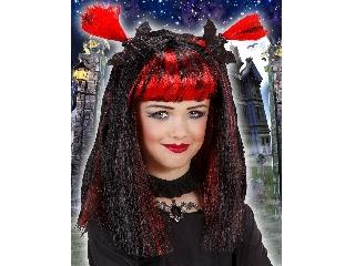 Halloween boszi paróka (piros)