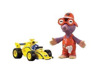 Roary autó + figura - Maxi és Vakesz