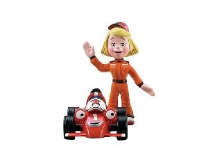 Roary autó + figura - Roary és Marsha