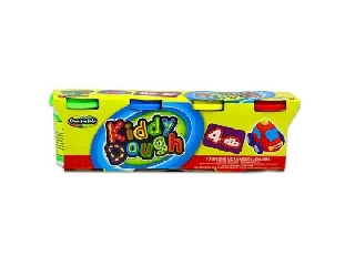 Creative Kids - Kiddy dough 4 db-os gyurma