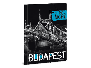 Cities- Budapest by night gumis dosszié A/4