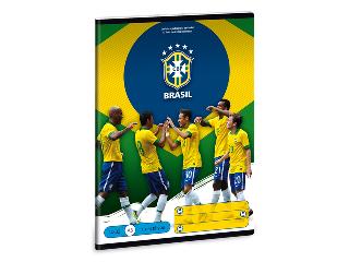Brasil 1. oszt. vonalas A/5-ös füzet