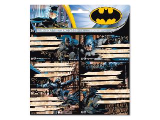 Batman csomagolt füzetcímke (3x6 db)