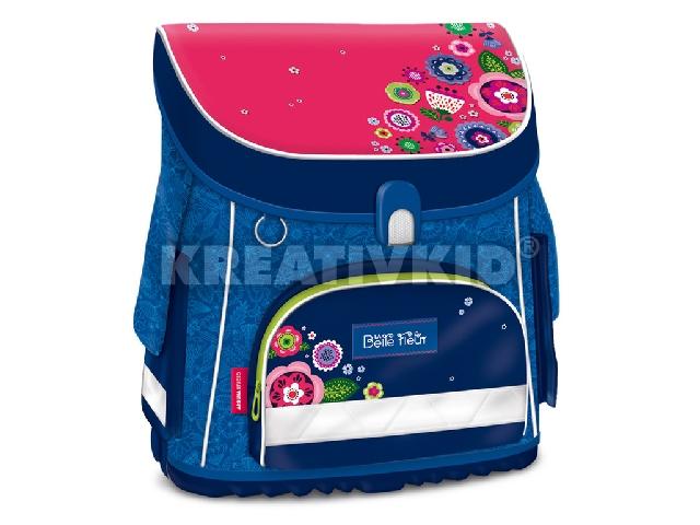 La Belle Fleur kompakt easy mágneszáras iskolatáska - ajándék emeletes tolltartóval