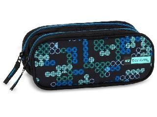 AU Tetris AUtonomy dupla cipzáras tolltartó