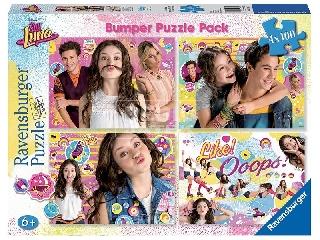 Soy Luna 4 x 100 darabos puzzle