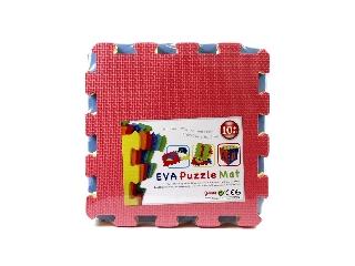 Színes 10 darabos habszivacs szőnyeg puzzle